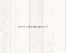 Living Walls 8550-46 sloophout behang white wash
