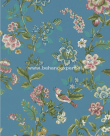 Eijffinger PiP Studio behang 375066 Botanical Print Blauw