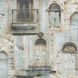 Galerie Global Fusion G56392 muurgevel met frans balkon