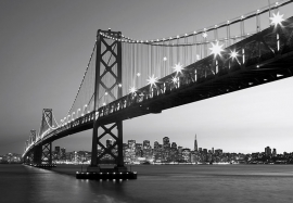 Fotobehang Idealdecor 00134 San Francisco Skyline
