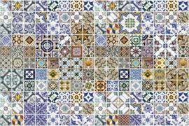 Fotobehang Portugese tegels
