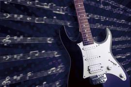 Fotobehang Elektrische gitaar