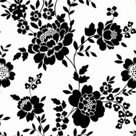 Esta Home Belle Rose Black & White 115722