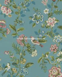 Eijffinger PiP Studio behang 375062 Botanical Print Zeeblauw