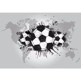 Fotobehang Football Stars: Around the World