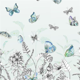 Designers Guild PDG1058/02 Papillons Eau De Nill