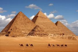 Fotobehang Pyramides