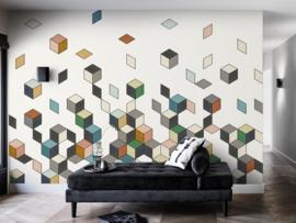 BN Cubiq 200451 Falling Cube Mural