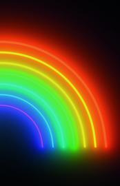 Noordwand Good Vibes GVD24303 Mural Rainbow 180cm x 280cm hoog