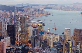Fotobehang City Love CL91A Hong Kong