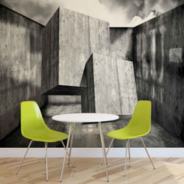 Fotobehang Abstract Design Beton