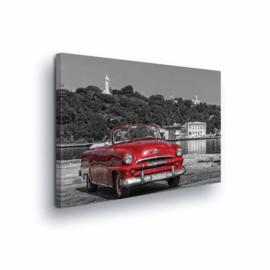Canvasdoek Classic Car