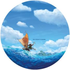 Komar Into Adventure DD1-019 Moana Ocean is Calling cirkel zelfklevend 125cm
