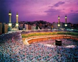 Komar  fotobehang Mekka 8-106
