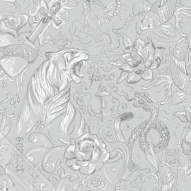 Behangexpresse Thomas - 27153 tijger en slangen