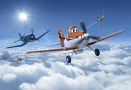 Komar fotobehang 8-465 Planes Above The Cloud