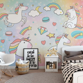 Fotobehang Unicorn Dreams