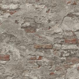 Rasch Factory 939330 ruwe baksteen