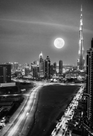 Fotobehang City Love CL60B Dubai