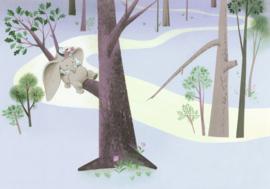 Komar Into Adventure IADX8-044 Dumbo Sleep on Tree 400cm x 280cm hoog