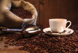 Fotobehang Coffee Cafe