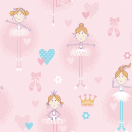 Galerie Wallcovering Just 4 kids 2 - G56002 balletdanseres
