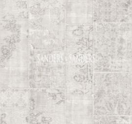 Behang Sanders & Sanders Trends&More 935263 vintage patchwork