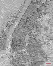 Komar NYC Map P033-VD2