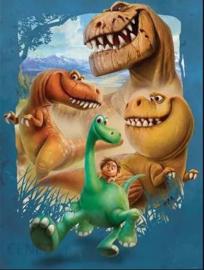 fotobehang Dino afmeting 206cm x275cm hoog