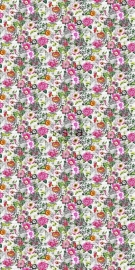 Esta Brooklyn Bridge 158501 Wallpaper XXL funky flowers