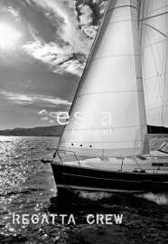 Esta Home Regatta Crew (F) 156431 PhotowallXL Sailing boat