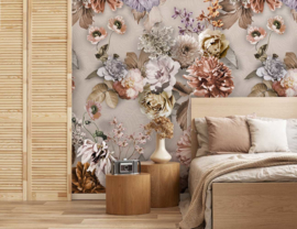 Floral Utopia INK7567 fotobehang afm. 200cm breed x 280cm hoog