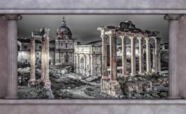 Fotobehang Doorkijk met Pilaren Ruines van Rome