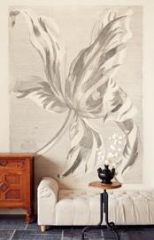 Eijffinger Masterpiece 358117 Wallpower Tulip Teyler Sepia