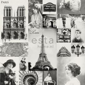 Behang Esta Home Pretty Nostalgic 138150 Paris