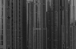 Fotobehang City Love CL70B Dubai wolkenkrabber
