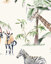 Creative Lab Amsterdam Just Another Day In The Jungle 100cm x 280cm hoog