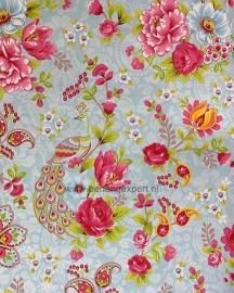 Eijffinger Pip Studio behang 313051 Flowers in the Mix Lichtblauw