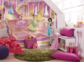 Komar fotobehang 8-4107 Disney Princess Glitzerparty