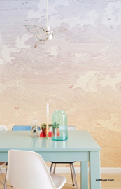 Eijffinger Geonature 366109  Sunset Beige Wallpower