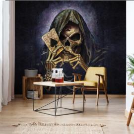 Fotobehang Gotic Doodshoofd