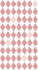 Bibelotte behang Wieber roze 28093