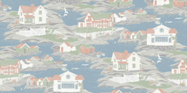 Boras Tapeter Marstrand || 8850 strandhuizen