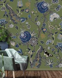 Floral Utopia INK7570 fotobehang afm. 200cm breed x 280cm hoog