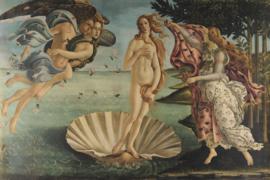 Fotobehang Geboorte van Venus (Sandro Botticelli)