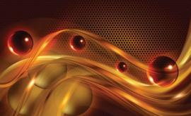 Fotobehang Abstract Oranje Rood Geel