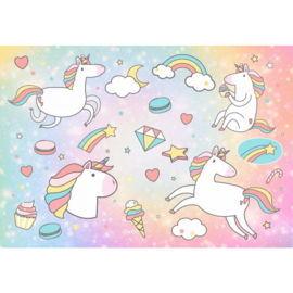 Fotobehang Unicorn Dreams