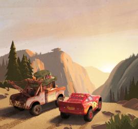 Komar Into Adventure IADX6-032 Cars Sundown 300cm x 280cm hoog