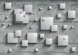 Fotobehang Abstract en Vierkant