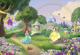 Komar fotobehang 8-449 Disney Princess Rainbow